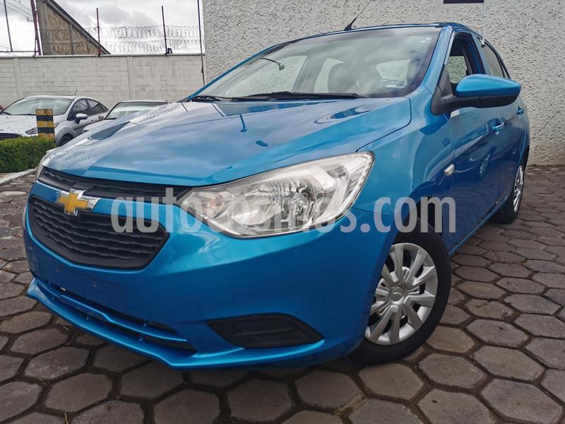 Foto Chevrolet Aveo LS usado (2018) color Azul Acero precio $163,000