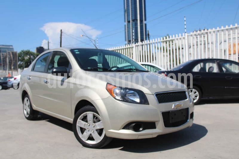 Chevrolet Aveo LS usado (2015) color Blanco precio $115,900