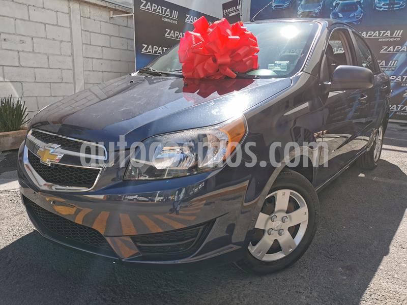 Foto Chevrolet Aveo LS usado (2018) color Azul Acero precio $138,000
