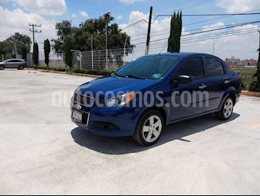 Chevrolet Aveo LT usado (2016) color Azul precio $129,000