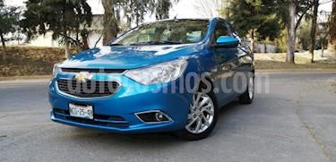Chevrolet Aveo 4P LTZ TM5 A/AC. AUT. QC F. NIEBLA RA-15 usado (2018) color Azul precio $178,000