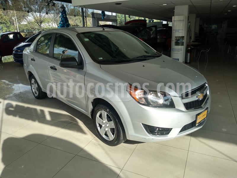 Chevrolet Aveo LS Aa usado (2018) color Plata precio $130,000