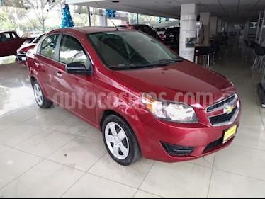 Chevrolet Aveo 4P LT L4/1.6 AUT usado (2018) color Rojo precio $147,000