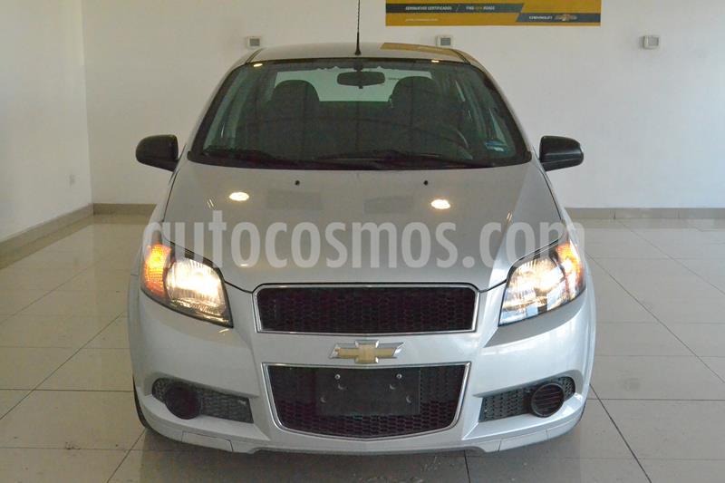 Chevrolet Aveo Paq C usado (2017) color Plata precio $139,000