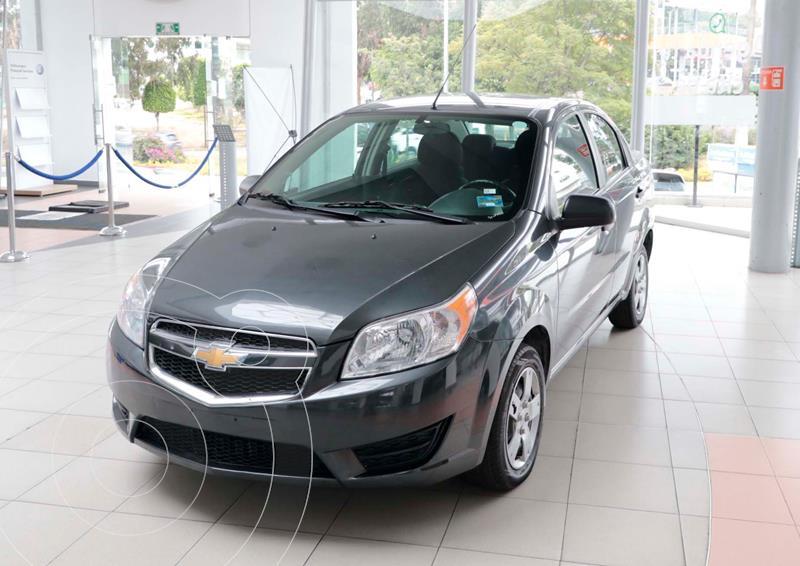 Foto Chevrolet Aveo LS Aa usado (2018) color Gris Oscuro precio $134,500