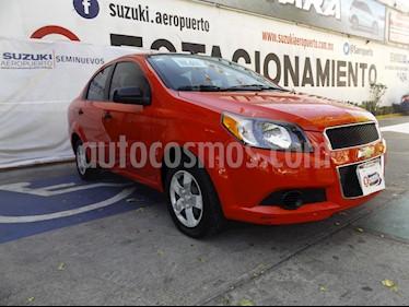 Chevrolet Aveo LS usado (2016) color Rojo precio $110,000