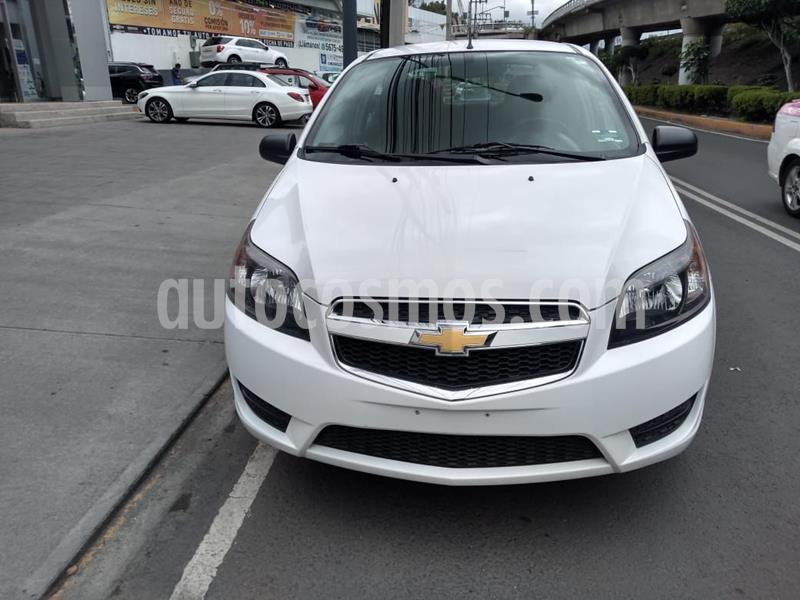 Chevrolet Aveo LT Aut usado (2018) color Blanco precio $135,000