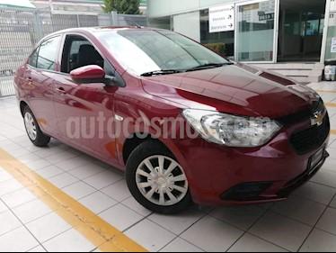 Chevrolet Aveo LS Aut (Nuevo) usado (2018) color Rojo precio $178,000