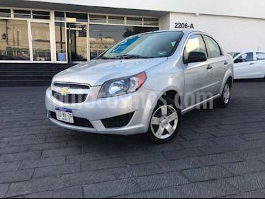 Chevrolet Aveo 4p LS L4/1.5 Aut usado (2018) color Plata precio $129,901
