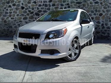 Chevrolet Aveo LT Aut usado (2017) color Plata precio $145,000