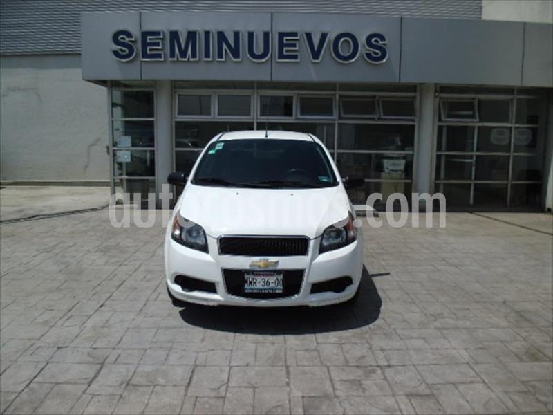 Chevrolet Aveo LS Aut usado (2016) color Blanco precio $115,000