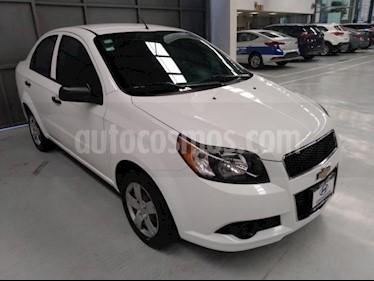 Chevrolet Aveo 4P LS L4/1.6 AUT usado (2013) color Blanco precio $89,000