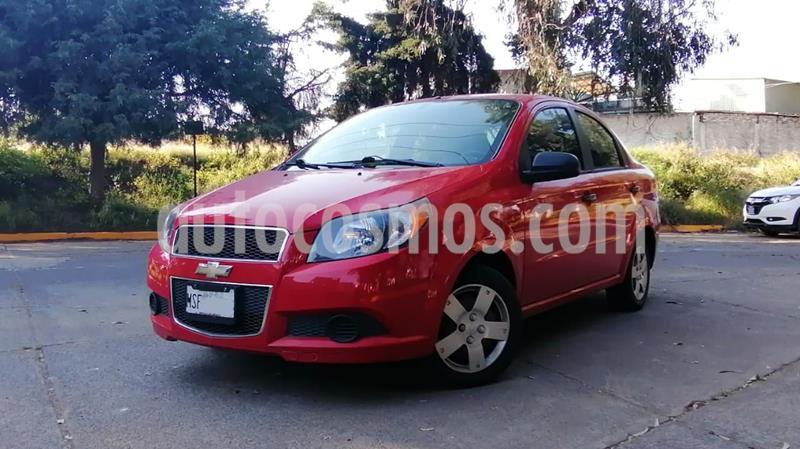 Chevrolet Aveo LS usado (2014) color Rojo precio $99,000
