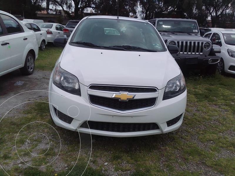 Foto Chevrolet Aveo LS Aa usado (2018) color Blanco precio $152,900