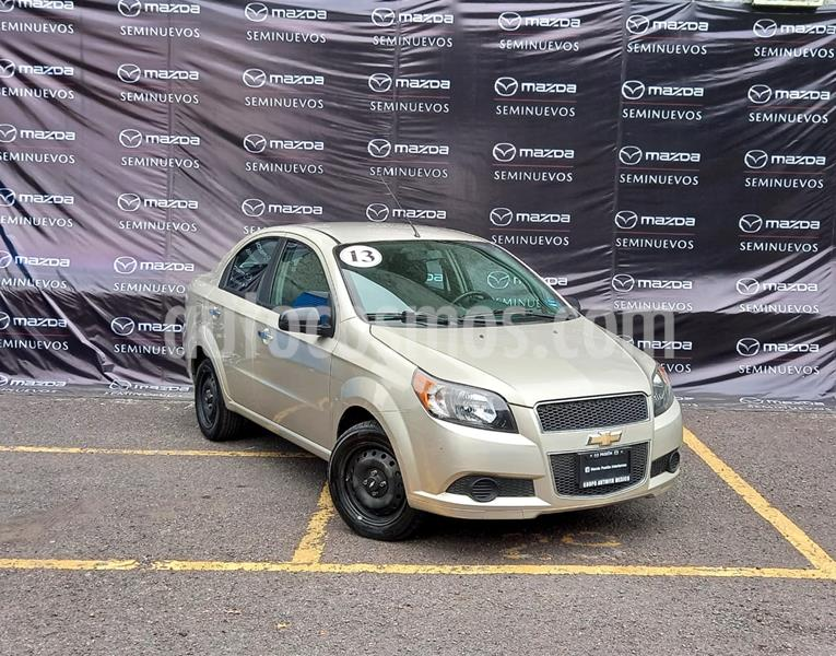 Chevrolet Aveo Paq C usado (2013) color Marron precio $95,000