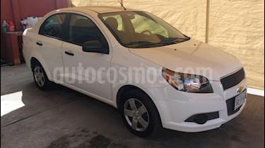 Chevrolet Aveo LS Aa usado (2015) color Blanco precio $115,000