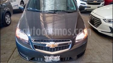 Chevrolet Aveo LT Bolsas de Aire y ABS (Nuevo) usado (2018) color Gris precio $135,500