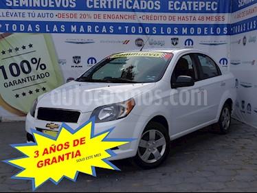 Chevrolet Aveo LT Aut usado (2016) color Blanco precio $139,000