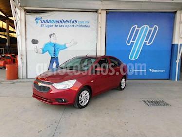 Chevrolet Aveo LT C MT usado (2020) color Rojo precio $136,000