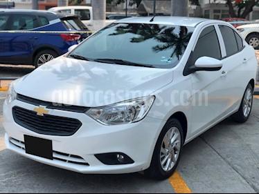 foto Chevrolet Aveo Paq B usado (2018) color Blanco precio $189,000