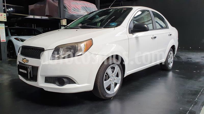 Chevrolet Aveo LT Aut usado (2013) color Blanco precio $94,000