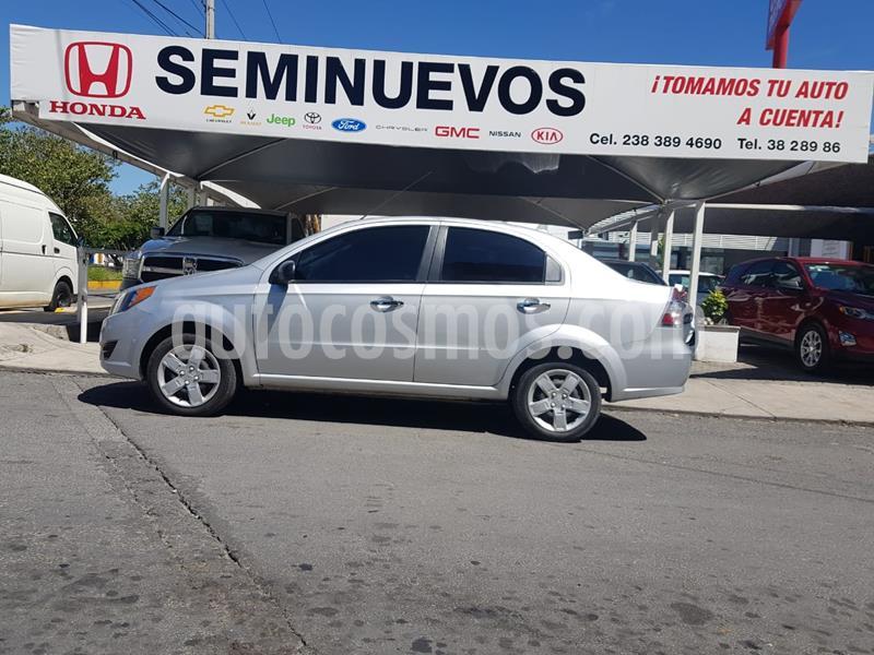 Chevrolet Aveo LT usado (2018) color Gris precio $144,500