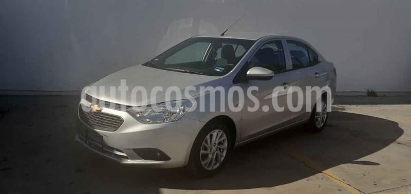 Chevrolet Aveo Paq D usado (2020) color Plata precio $179,900