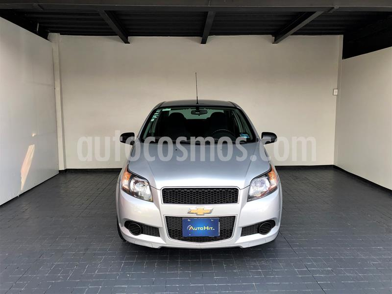 Chevrolet Aveo LT usado (2016) color Plata precio $124,000