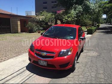 Chevrolet Aveo LT Bolsas de Aire y ABS Aut (Nuevo) usado (2017) color Rojo Victoria precio $124,000