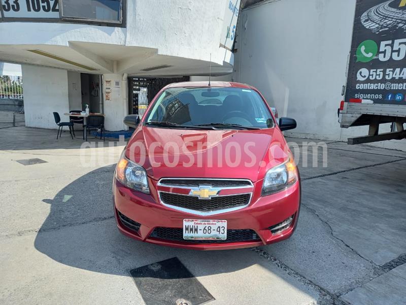 Chevrolet Aveo LS usado (2018) color Rojo precio $118,900