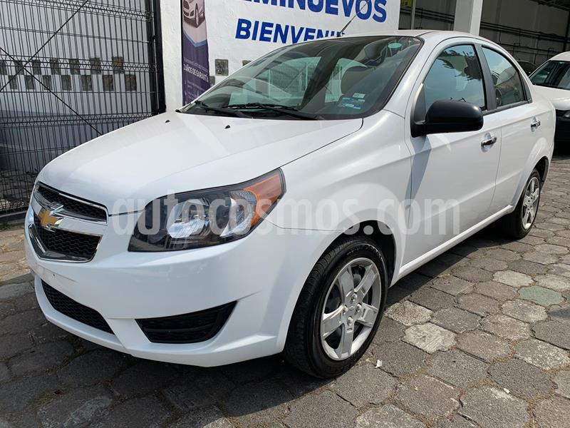 Chevrolet Aveo LT Aut usado (2018) color Blanco precio $141,500