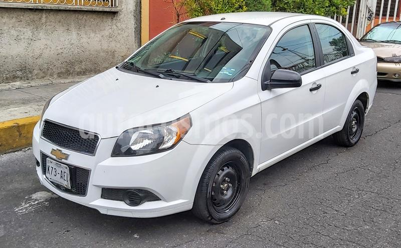 Chevrolet Aveo LS usado (2015) color Blanco precio $87,000