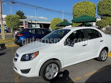 Chevrolet Aveo LT usado (2018) color Blanco precio $152,000