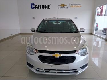 Chevrolet Aveo LS Aut usado (2018) color Gris precio $195,000