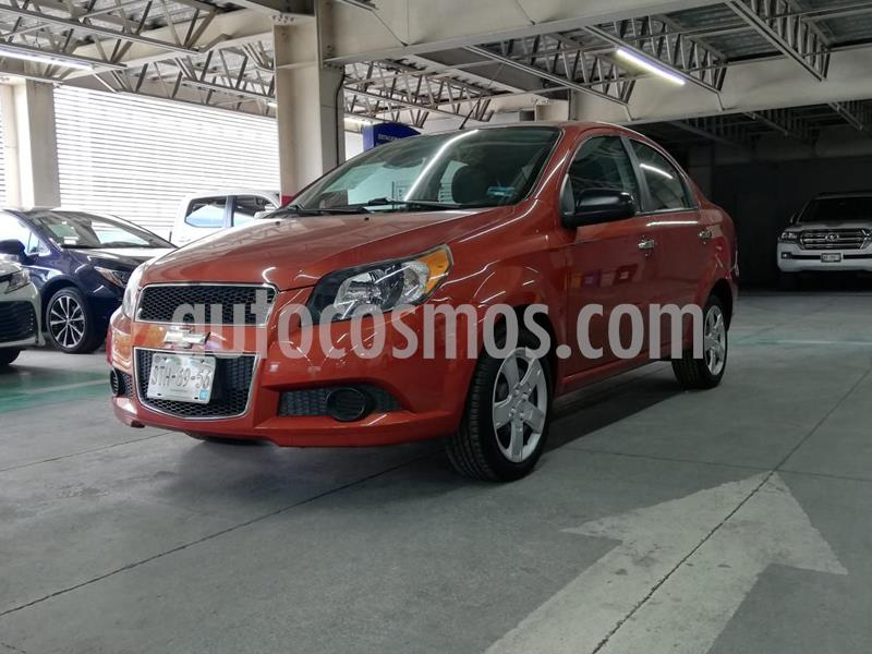 Chevrolet Aveo LTZ usado (2016) color Naranja precio $125,000