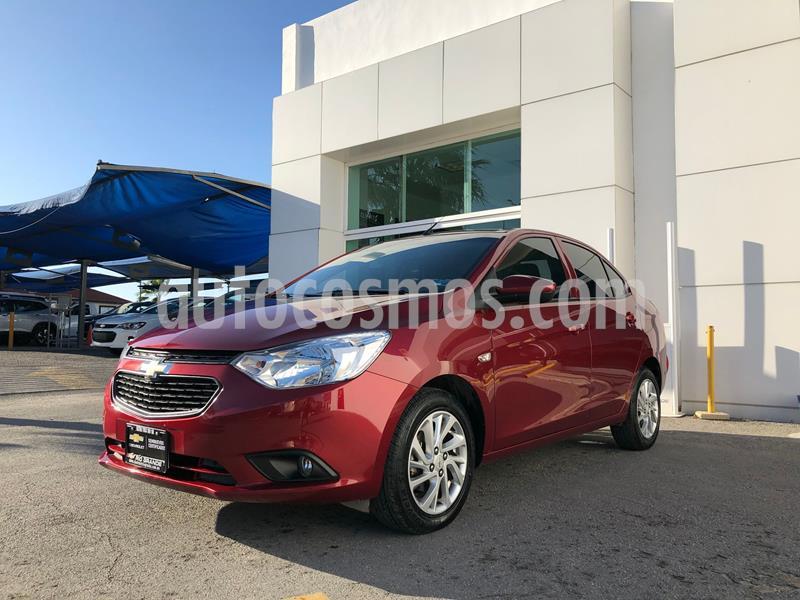 Chevrolet Aveo LT usado (2020) color Rojo precio $200,000