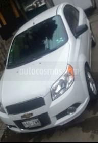Chevrolet Aveo LTZ usado (2014) color Blanco precio $95,000