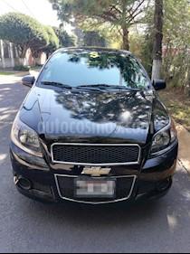 Chevrolet Aveo Paq M usado (2016) color Negro precio $105,000