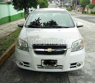Chevrolet Aveo LT Plus usado (2009) color Blanco precio $54,900
