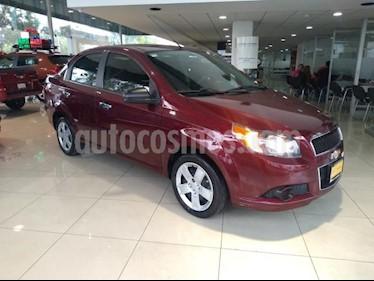 Chevrolet Aveo 4P LT L4/1.6 MAN usado (2013) color Rojo precio $100,000