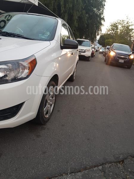 Chevrolet Aveo LS Aa usado (2014) color Blanco precio $98,000