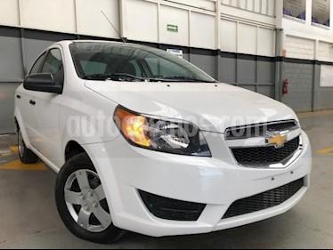 Chevrolet Aveo 4P LS L4/1.6 MAN usado (2018) color Blanco precio $150,000