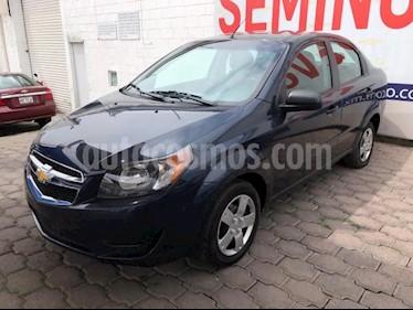 Chevrolet Aveo 4P LS AT A/AC. R-14 usado (2018) color Azul precio $130,000