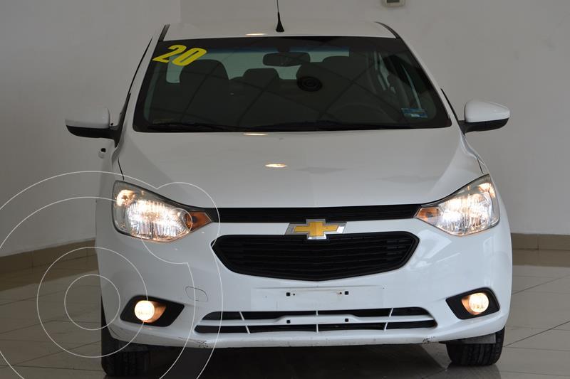 Foto Chevrolet Aveo LT usado (2020) color Blanco precio $210,000