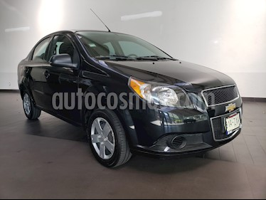 Chevrolet Aveo LS Aut usado (2015) color Negro Grafito precio $105,900