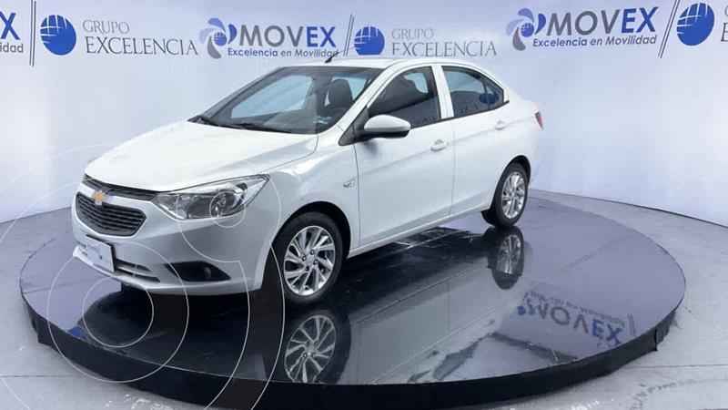 Foto Chevrolet Aveo LT usado (2018) color Blanco precio $189,000