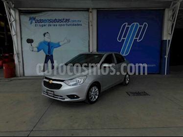 Chevrolet Aveo 4p LT L4/1.5 Man usado (2019) color Plata precio $109,000