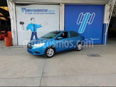 Chevrolet Aveo 4p LT L4/1.6 Man usado (2018) color Azul precio $104,000