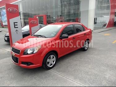 Chevrolet Aveo LS usado (2015) color Rojo precio $94,900