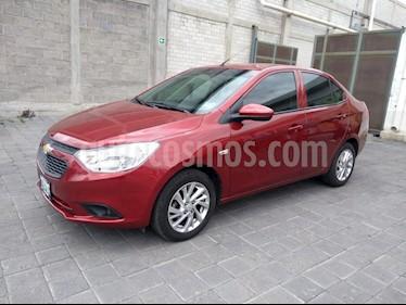 Foto Chevrolet Aveo LT Bolsas de Aire y ABS (Nuevo) usado (2018) color Rojo Victoria precio $190,000